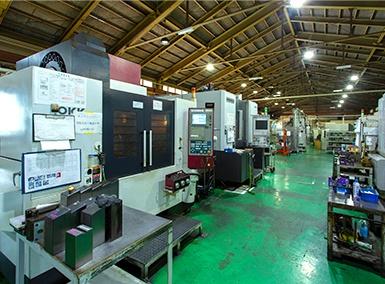 素材設計から機械加工まで一貫生産